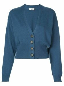 Brunello Cucinelli cashmere fitted cardigan - Blue