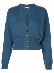 Brunello Cucinelli cashmere fitted cardigan - Blue