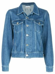 GANNI classic denim jacket - Blue