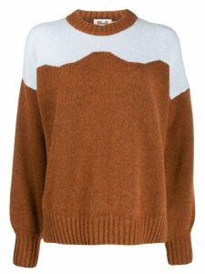 Baum Und Pferdgarten crew-neck sweater - Brown