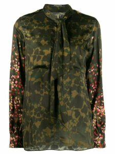 Mother Of Pearl camouflage floral print shirt - Green