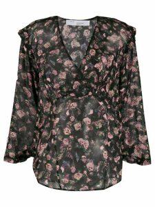 IRO floral print blouse - Black