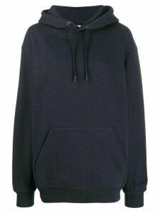 Reebok x Victoria Beckham oversized logo hoodie - Blue