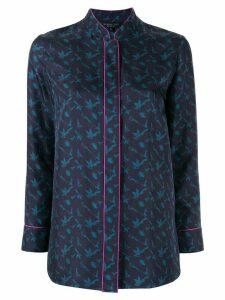 Shanghai Tang bird print shirt - Blue