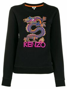 Kenzo embroidered Dragon sweatshirt - Black