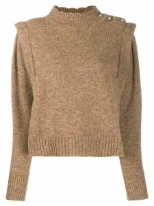 Isabel Marant Étoile Meery sweater - Brown