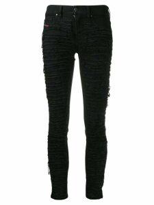 Diesel distressed skinny jeans - Black