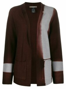 Suzusan dyed effect cardigan - Brown