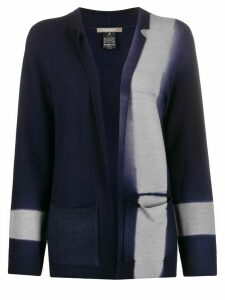 Suzusan dyed effect cardigan - Blue