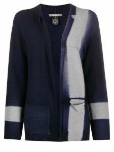 Suzusan dyed effect cardigan - Blue