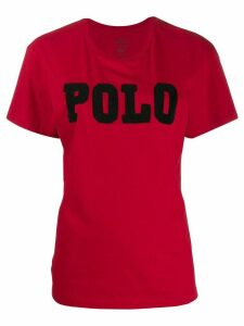 Polo Ralph Lauren beaded logo T-shirt - Red