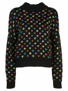 Jonathan Cohen star pattern jumper - Black