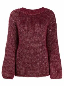 Forte Forte chunky knit jumper - Red