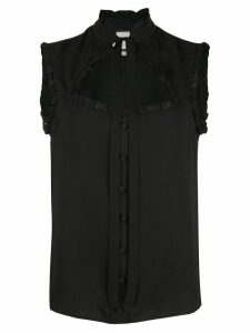 Alexis Lois ruffled top - Black
