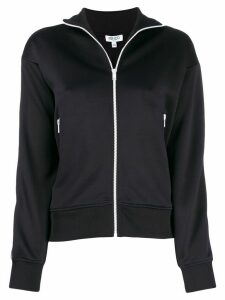 Kenzo logo stripe track jacket - Black