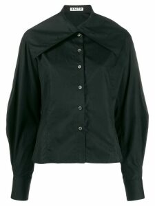 Aalto oversized collar shirt - Black