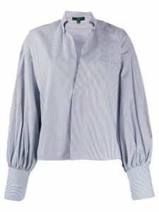 Jejia striped print shirts - Blue