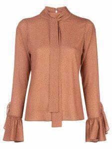 Alexis Odellia polka dot blouse - Brown