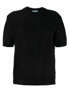 Prada shortsleeved jumper - Black