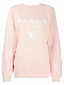 Balmain logo sweatshirt - PINK