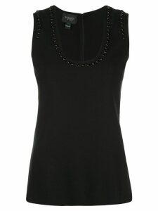 Giambattista Valli studded sleeveless top - Black