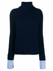 Jejia roll neck jumper - Blue