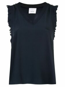 Cinq A Sept V-neck Lenore top - Black