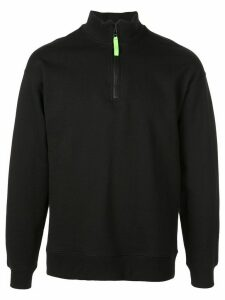 Opening Ceremony zip front sweatshirt - Black