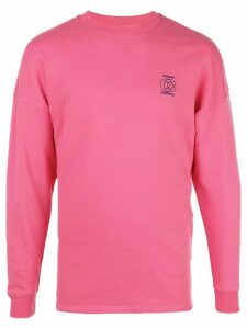 Opening Ceremony embroidered logo sweatshirt - PINK