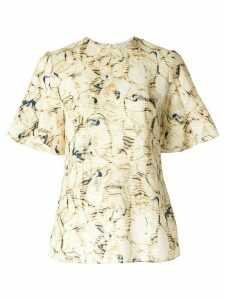 CAMILLA AND MARC Caspian print shortsleeved T-shirt - Yellow