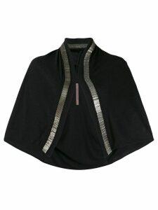 Rick Owens Lilies mesh chain cardigan - Black