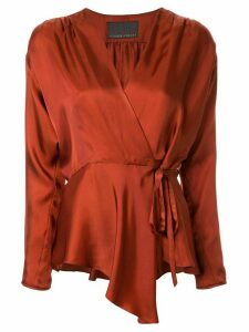 Ginger & Smart Sonorous wrap top - Brown