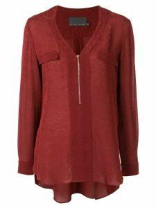 Ginger & Smart Panacea V-neck blouse - Red