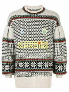 Ground Zero Paradiso intarsia knit jumper - Multicolour
