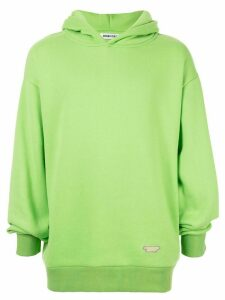 Ground Zero relaxed fit hoodie - Green