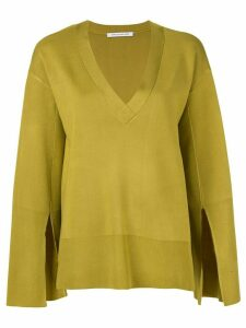 CAMILLA AND MARC Alissa V-neck knit top - Green