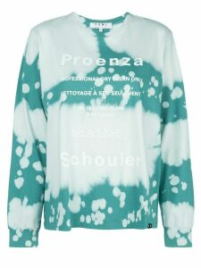 Proenza Schouler White Label bleached effect T-shirt