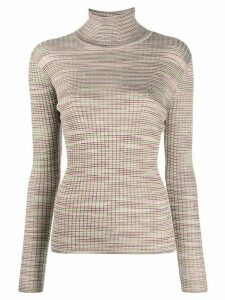 M Missoni textured knit jumper - NEUTRALS