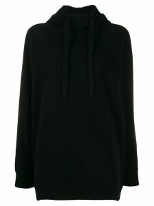 MRZ drawstring jumper - Black