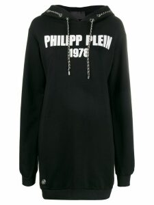 Philipp Plein chain-link oversized hoodie - Black