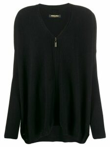 Max & Moi zip-up cardigan - Black