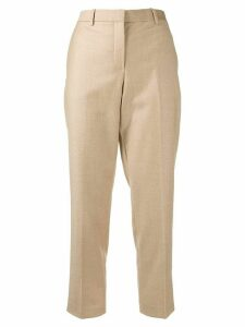 Theory cropped tailored trousers - NEUTRALS