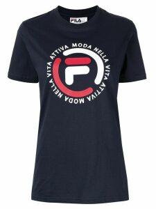 Fila Logo Boyfriend T-shirt - Blue