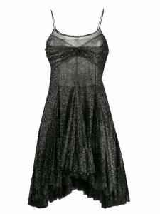 Philosophy Di Lorenzo Serafini asymmetric flared mini dress - Black