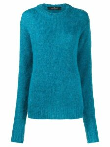 Rokh crew neck jumper - Blue