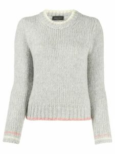 Roberto Collina crew-neck cashmere sweater - Grey