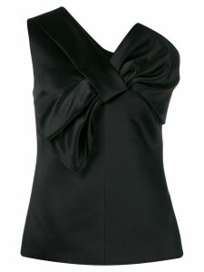 Victoria Victoria Beckham one shoulder vest top - Black