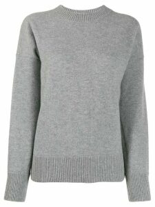 Moncler knitted jumper - Grey