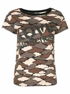 Love Moschino Military Cloud T-shirt - Green