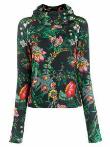 Paco Rabanne Beverly Hills print hoodie - Blue